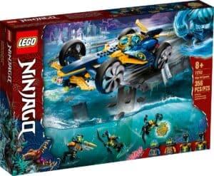 lego 71752 ninja undervandsspeeder