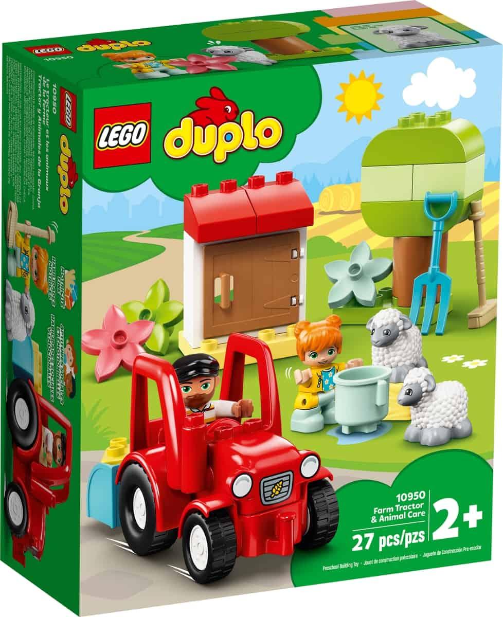 lego 10950 traktor og pasning af bondegardsdyr