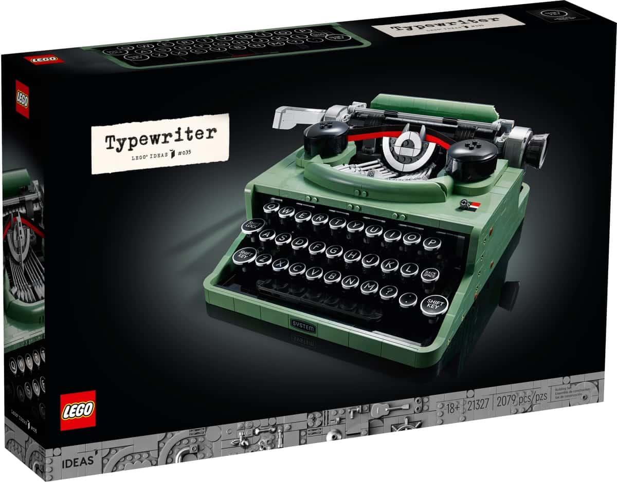 lego 21327 skrivemaskine