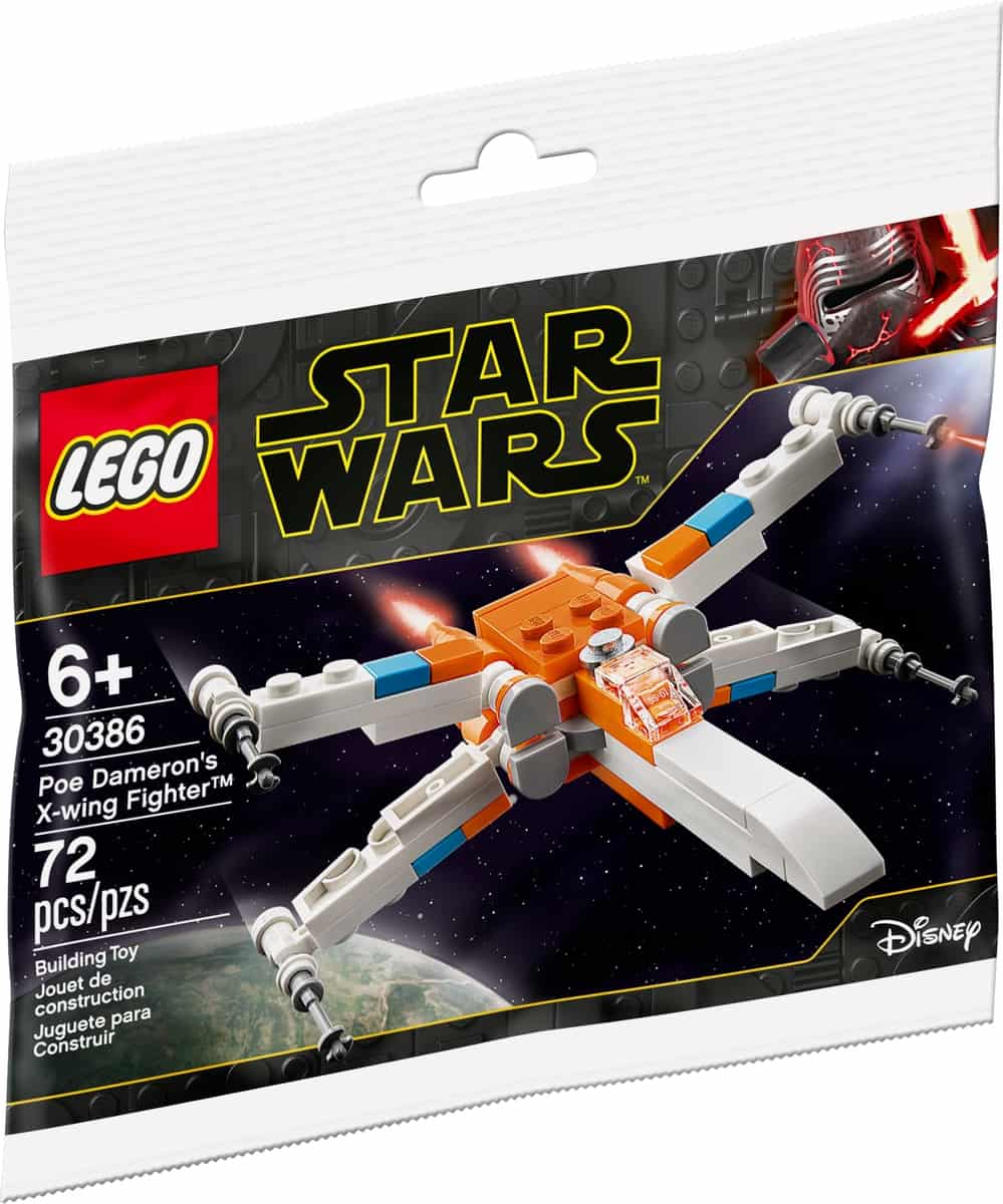 lego 30386 poe damerons x wing jager
