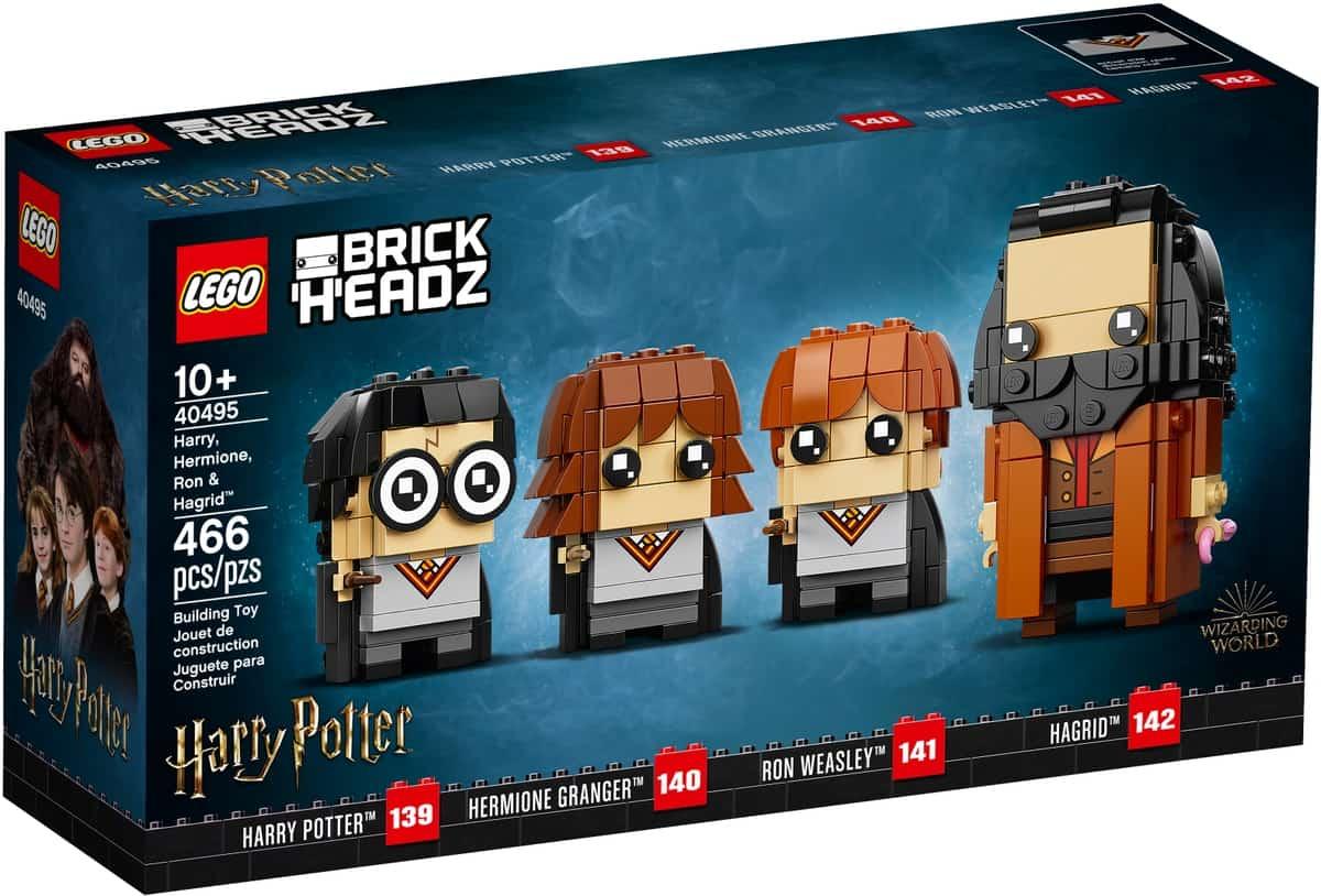 lego 40495 harry hermione ron og hagrid
