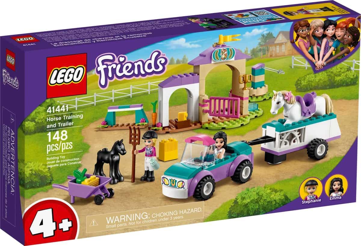 lego 41441 hestetraening og trailer