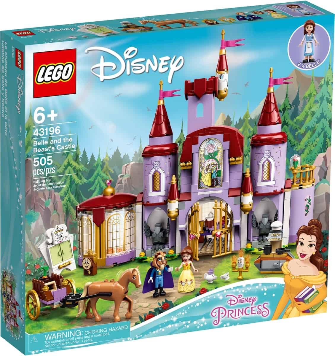 lego 43196 belle og udyrets slot