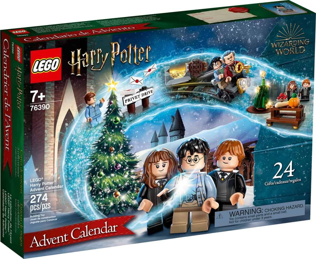 lego 76390 harry potter julekalender