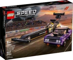 lego 76904 mopar dodge srt top fuel dragster og 1970 dodge challenger t a