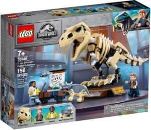 lego 76940 t rex dinosaurudstilling