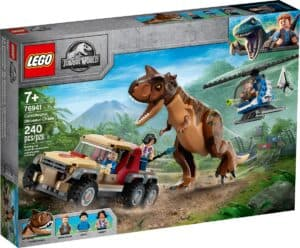 lego 76941 carnotaurus dinosaurjagt