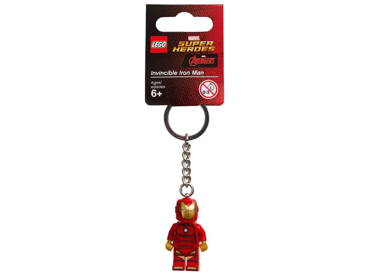 lego 853706 marvel super heroes uovervindelig iron man noglering