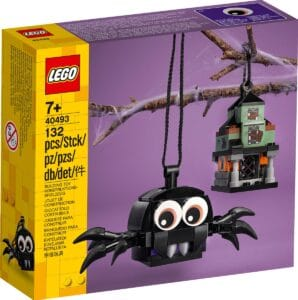 lego 40493 edderkop og hjemsogt hus saet