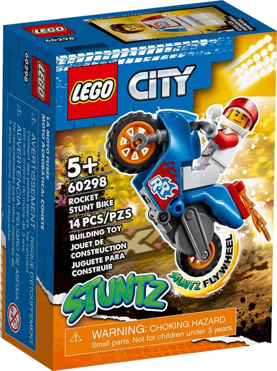 lego 60298 raket stuntmotorcykel