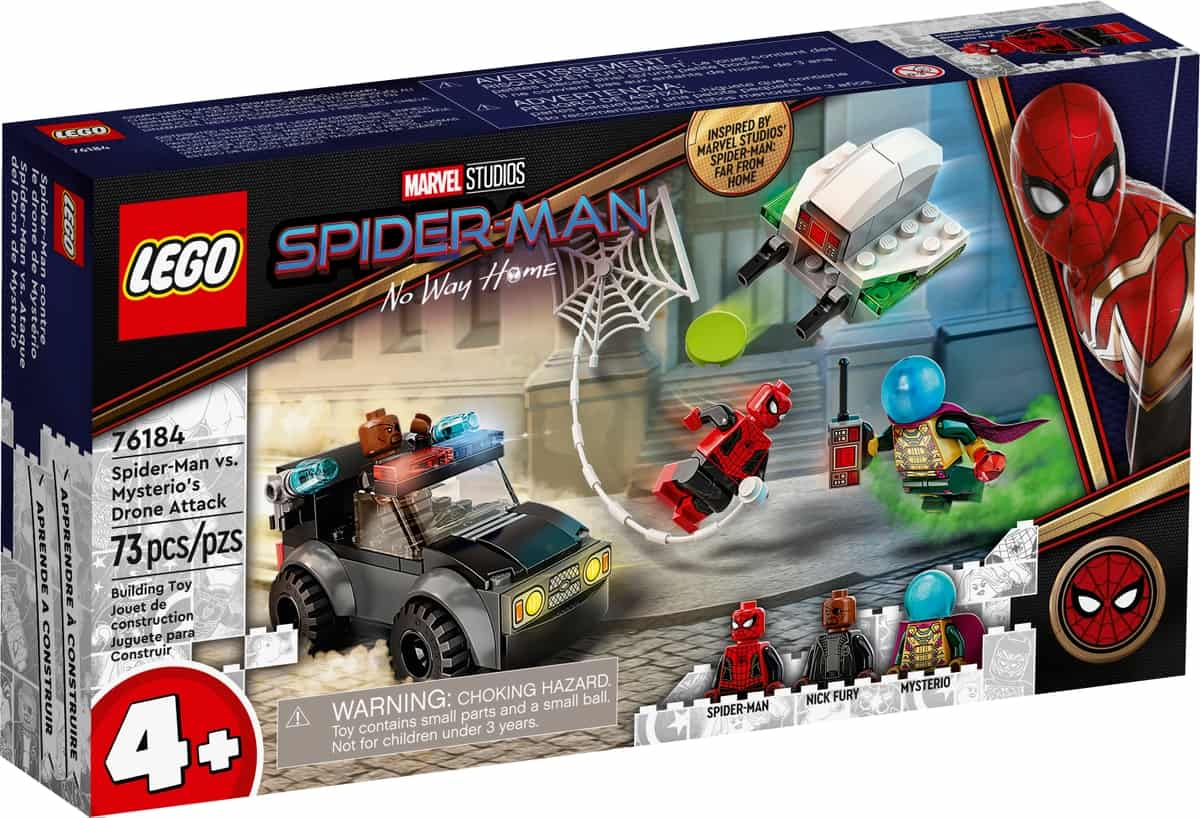 lego 76184 spider man mod mysterios droneangreb