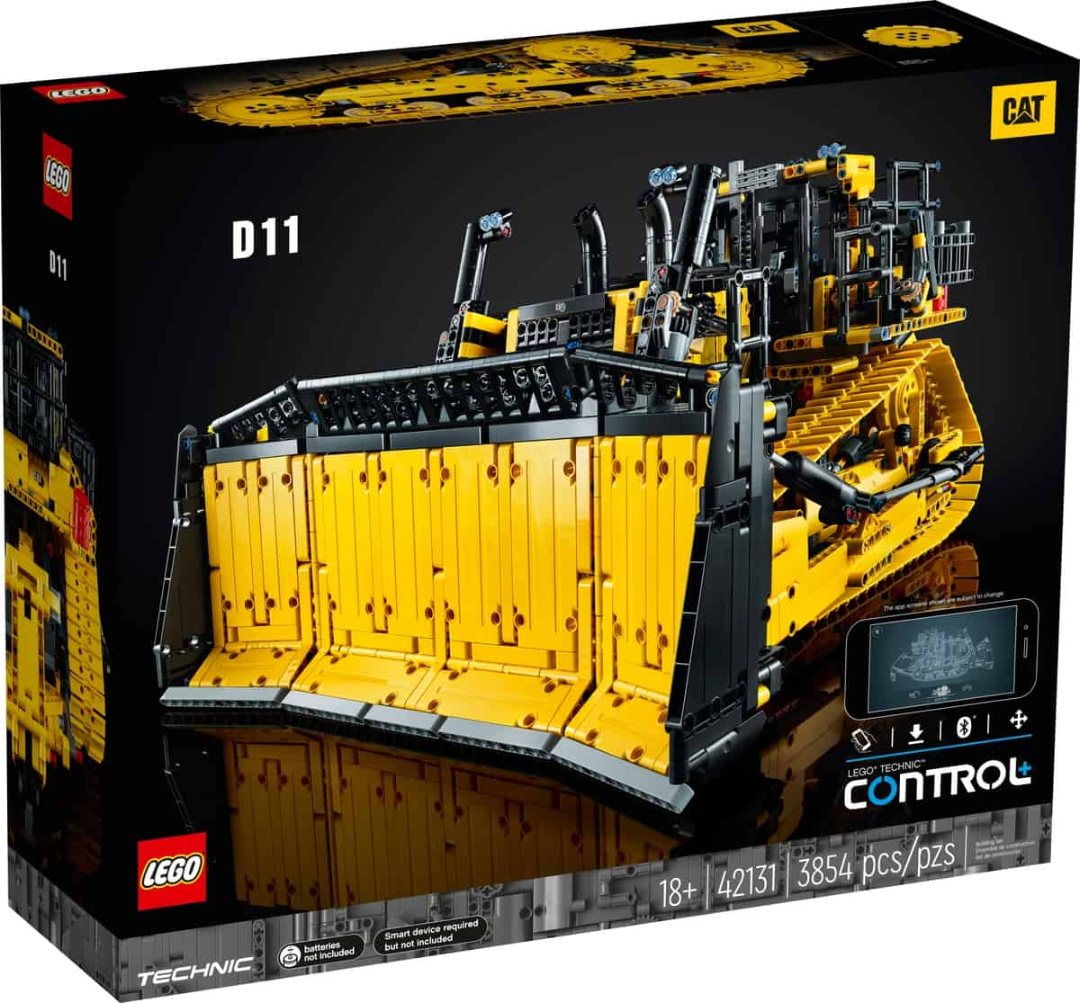 LEGO 42131 Cat D11-bulldozer