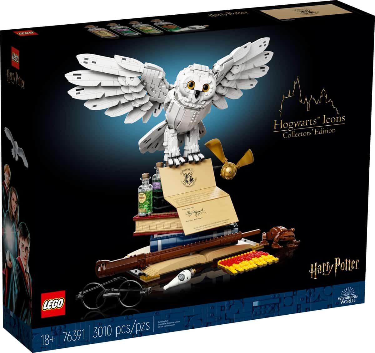 lego 76391 hogwarts ikoner samlerudgave