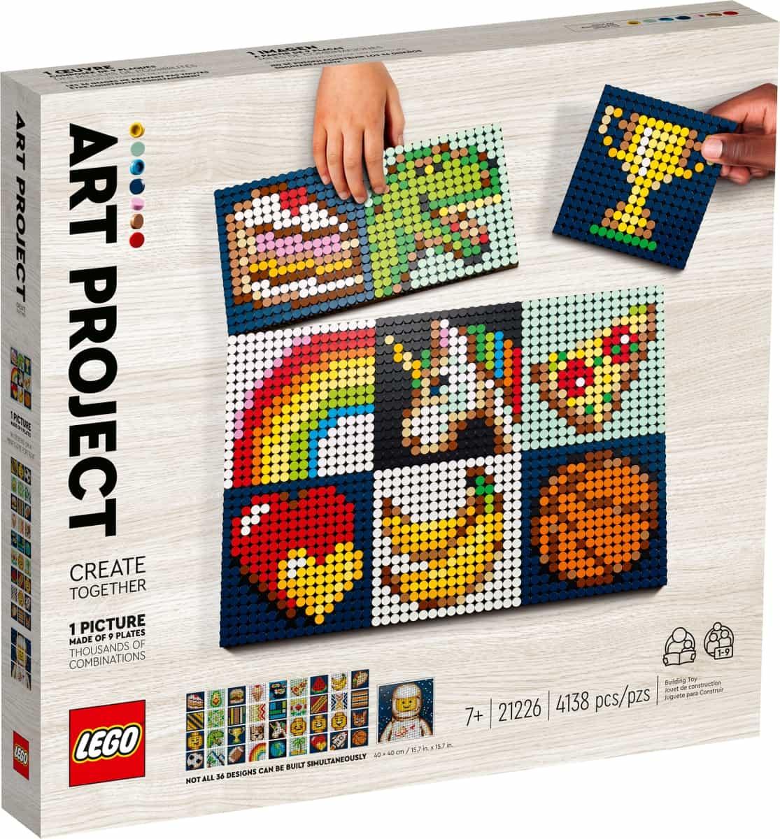 lego 21226 kunstprojekt skab kunst sammen