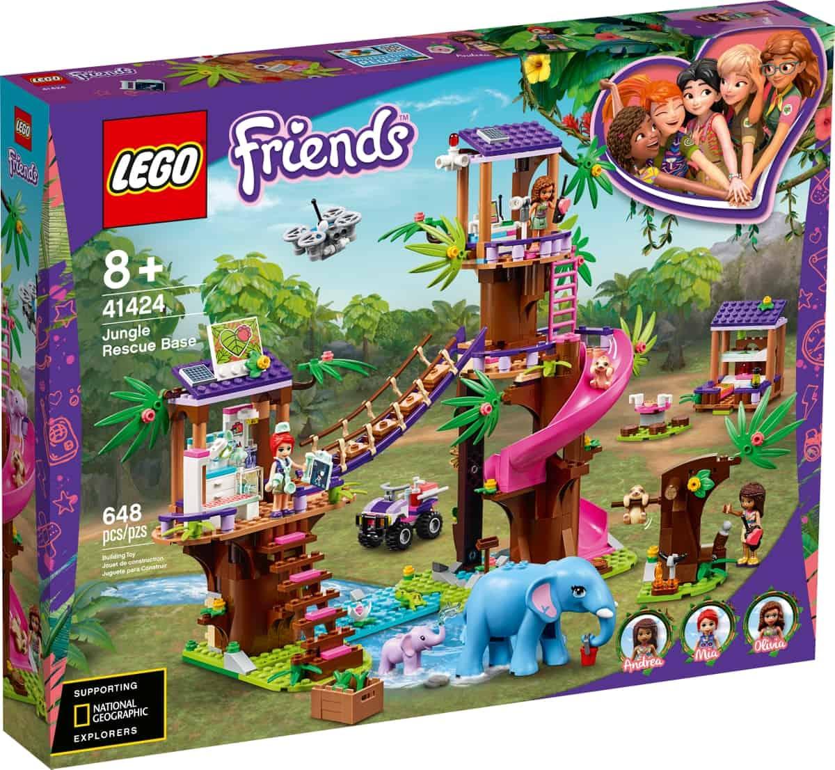 lego 41424 redningsstation i junglen