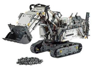 lego 42100 liebherr r 9800 gravemaskine