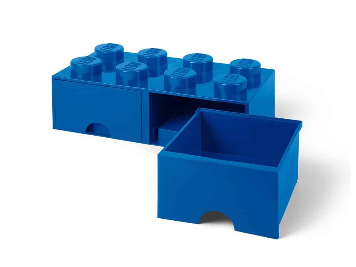 lego 5006143 opbevaringsklods med skuffer 8 bl