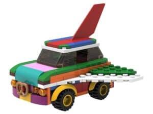 lego 5006890 ombyggelig flyvende bil
